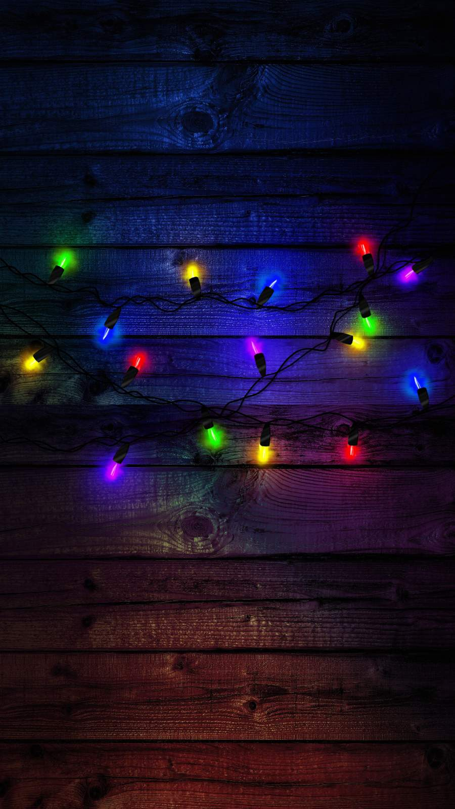 Colorful Led Lights New Year