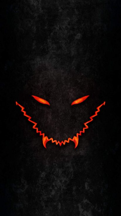 Dark Monster iPhone Wallpaper