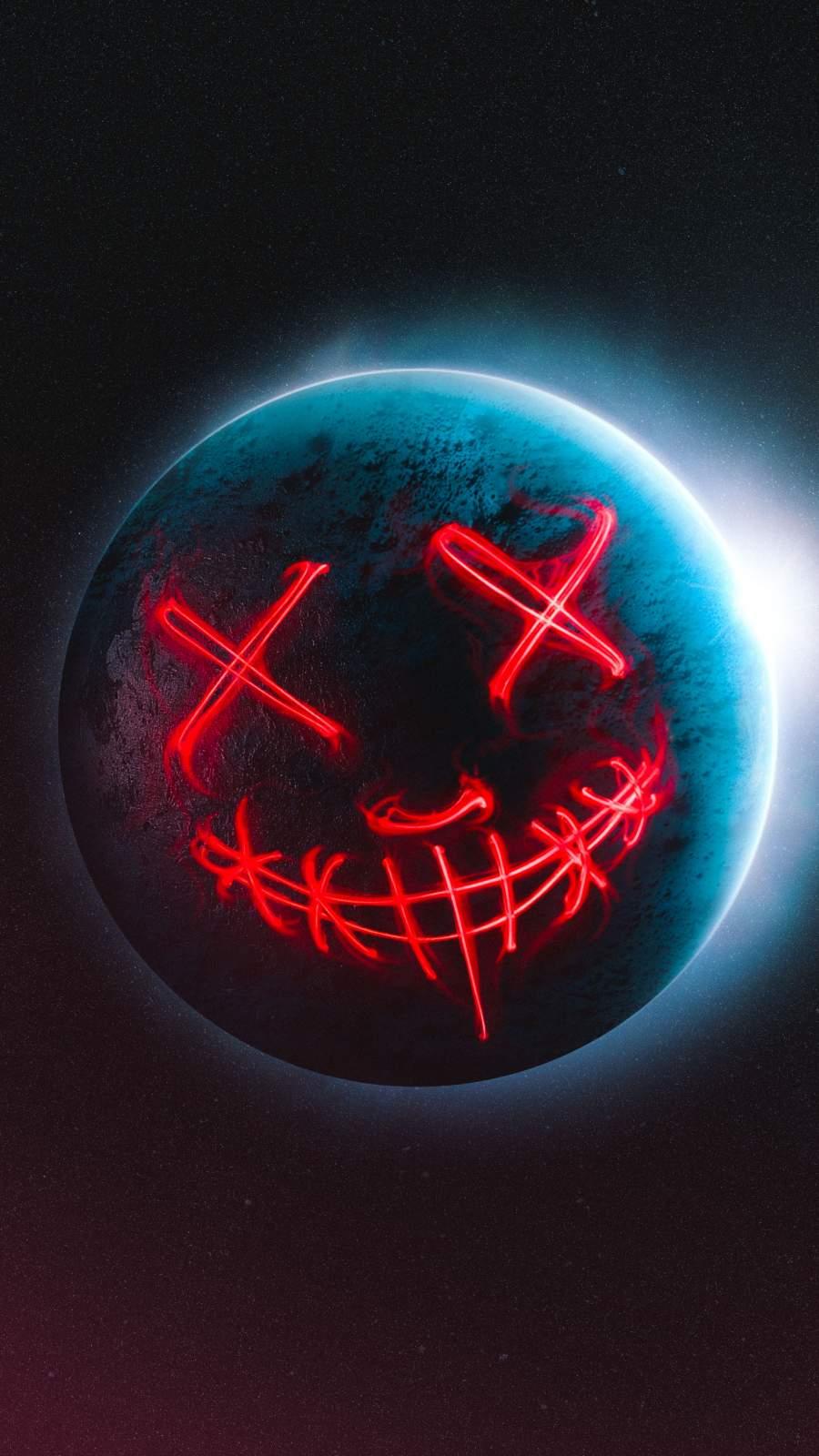 Dead Planet iPhone Wallpaper