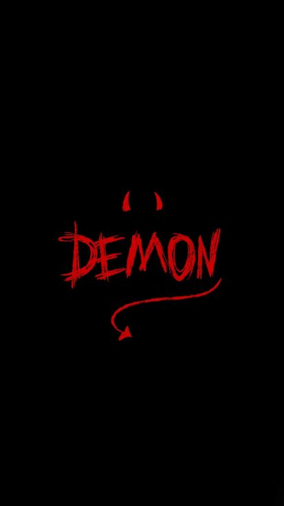 Demon iPhone Wallpaper