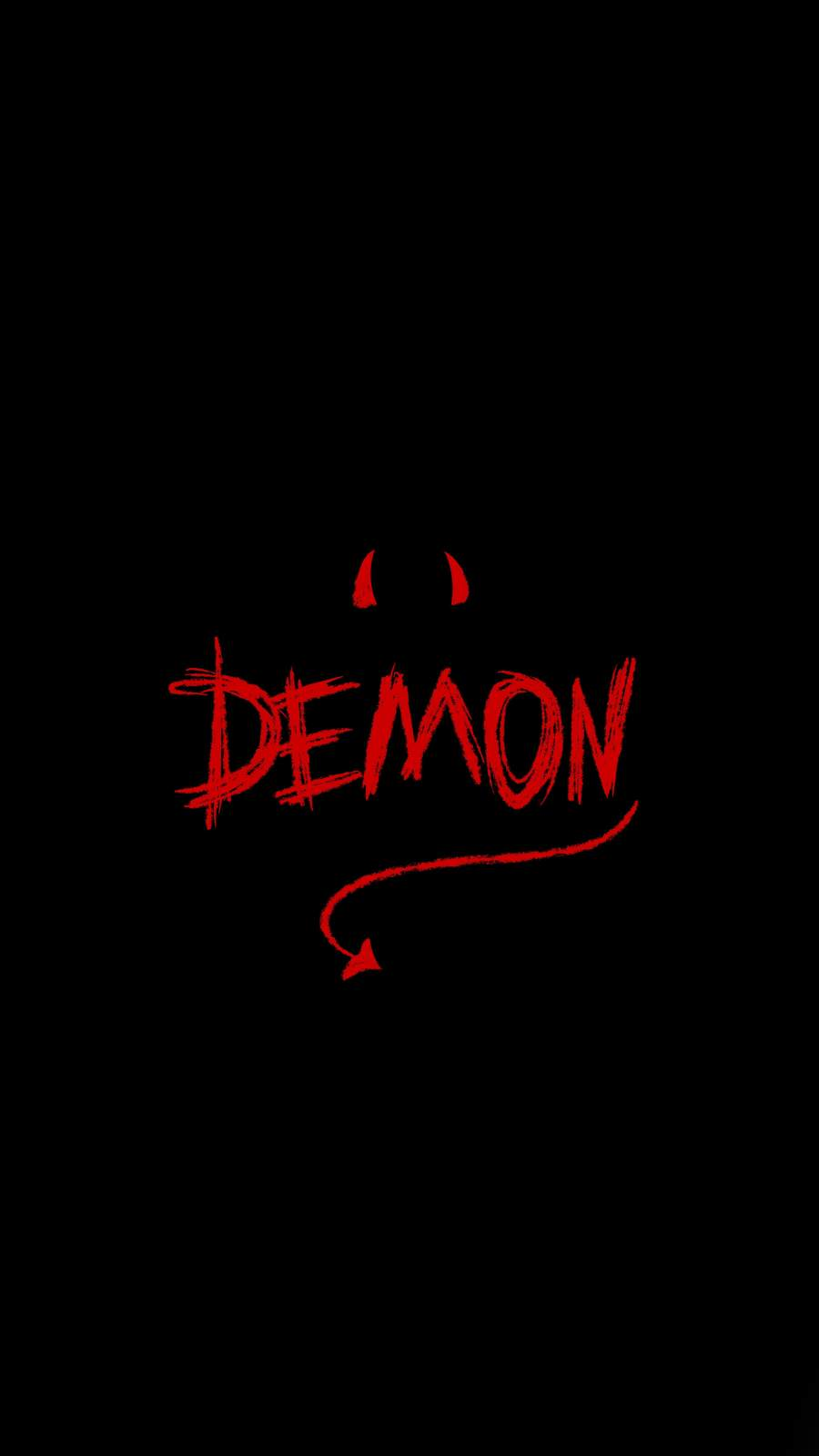 Demon iPhone Wallpaper