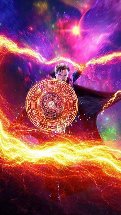 Doctor Strange Art iPhone Wallpaper