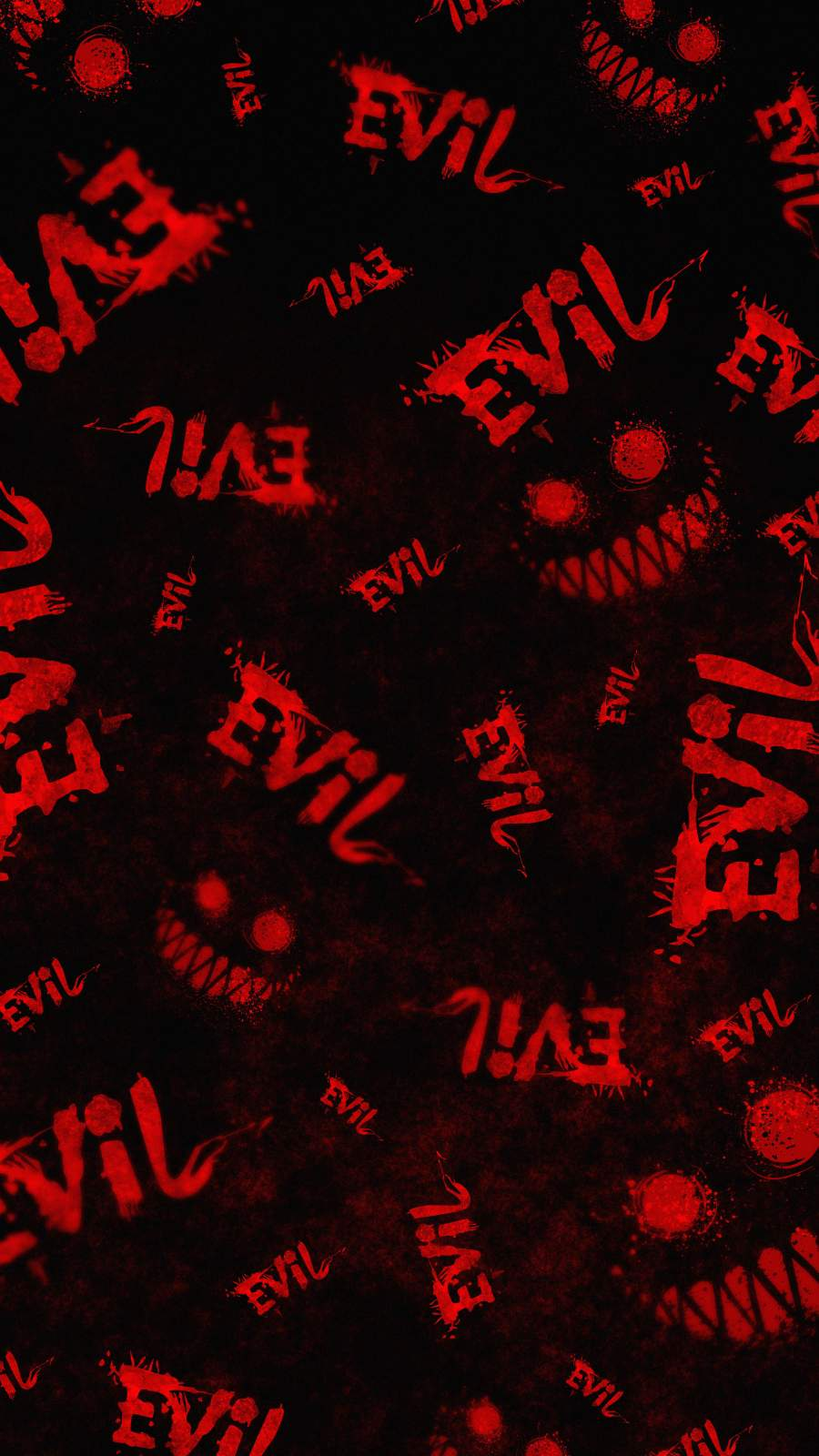 Evil Art iPhone Wallpaper