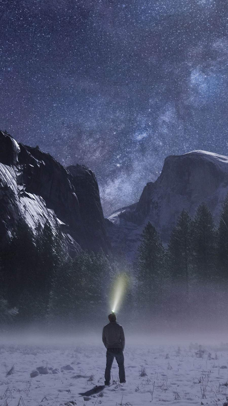 Frozen Yosemite iPhone Wallpaper