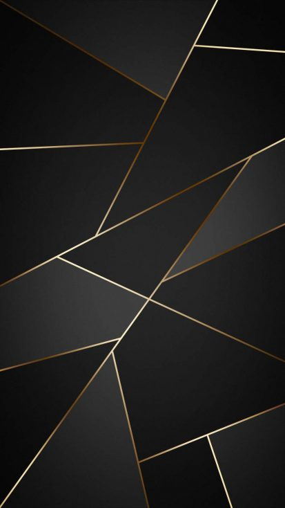 Gold Dark Background