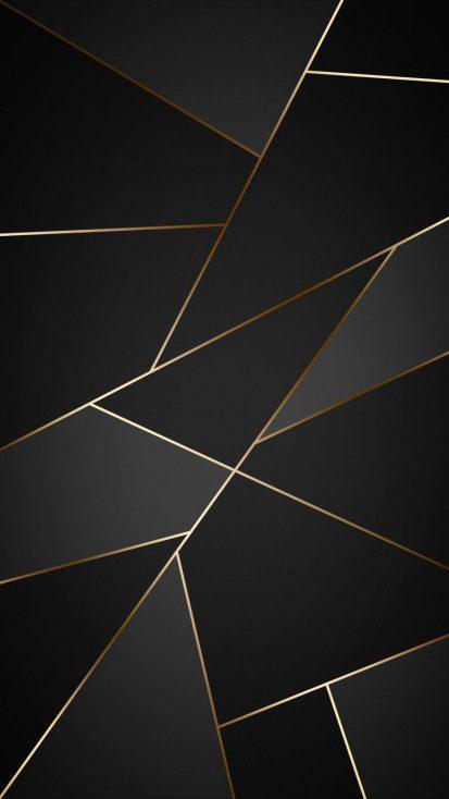 Gold Dark Background