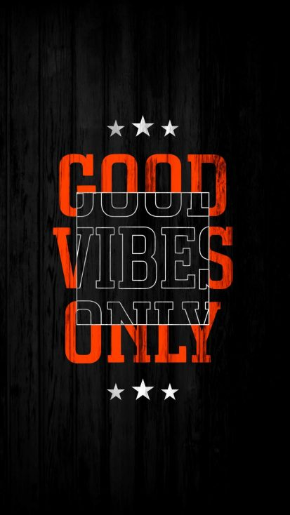 Good Vibes Only Wallpaper