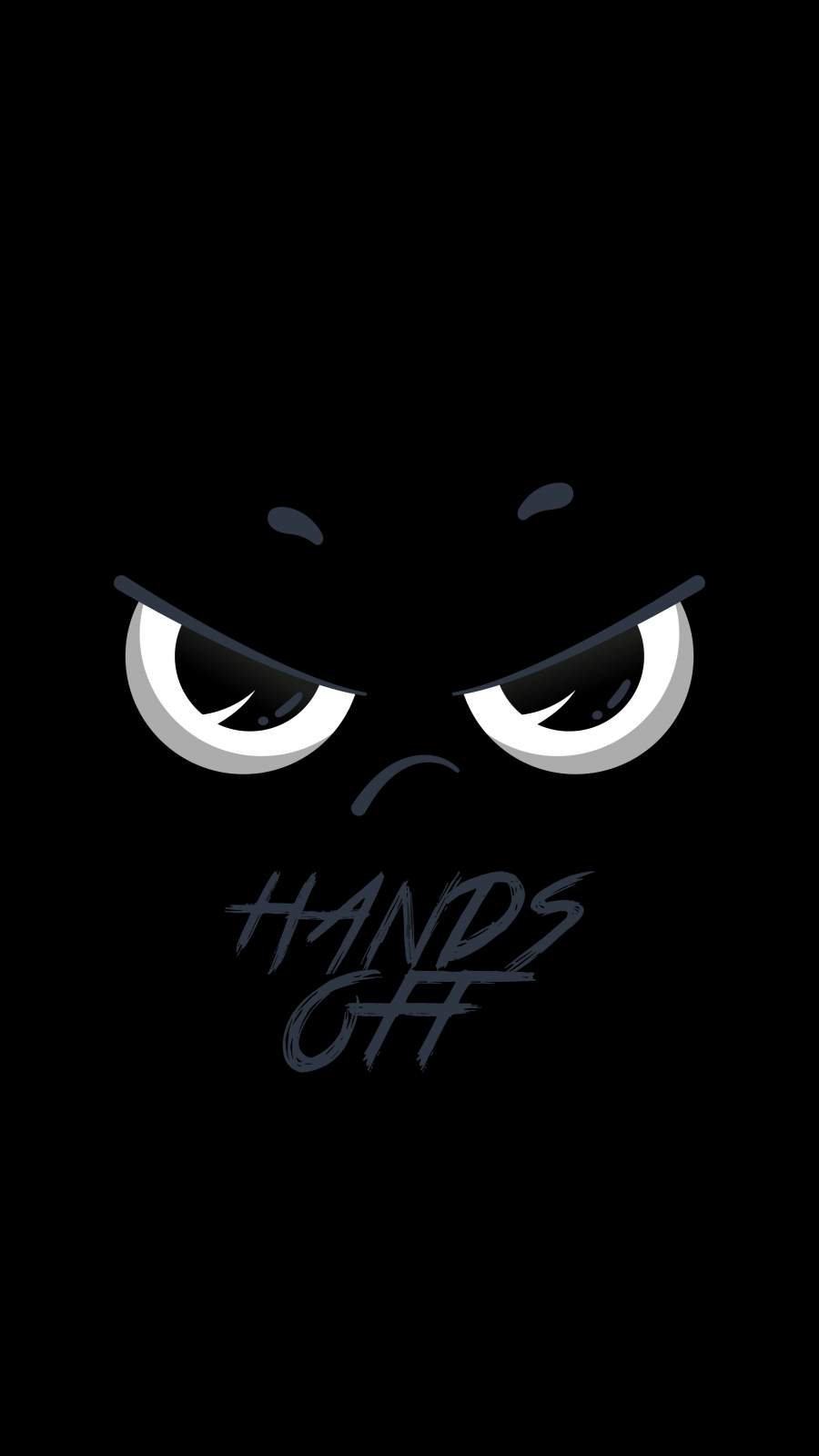 Hands Off iPhone Wallpaper
