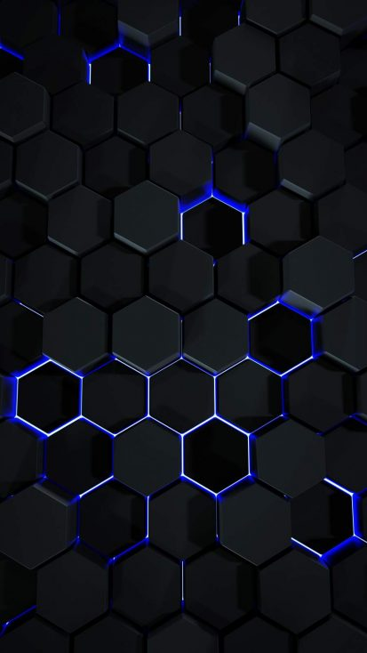 Hexagon 3D Art
