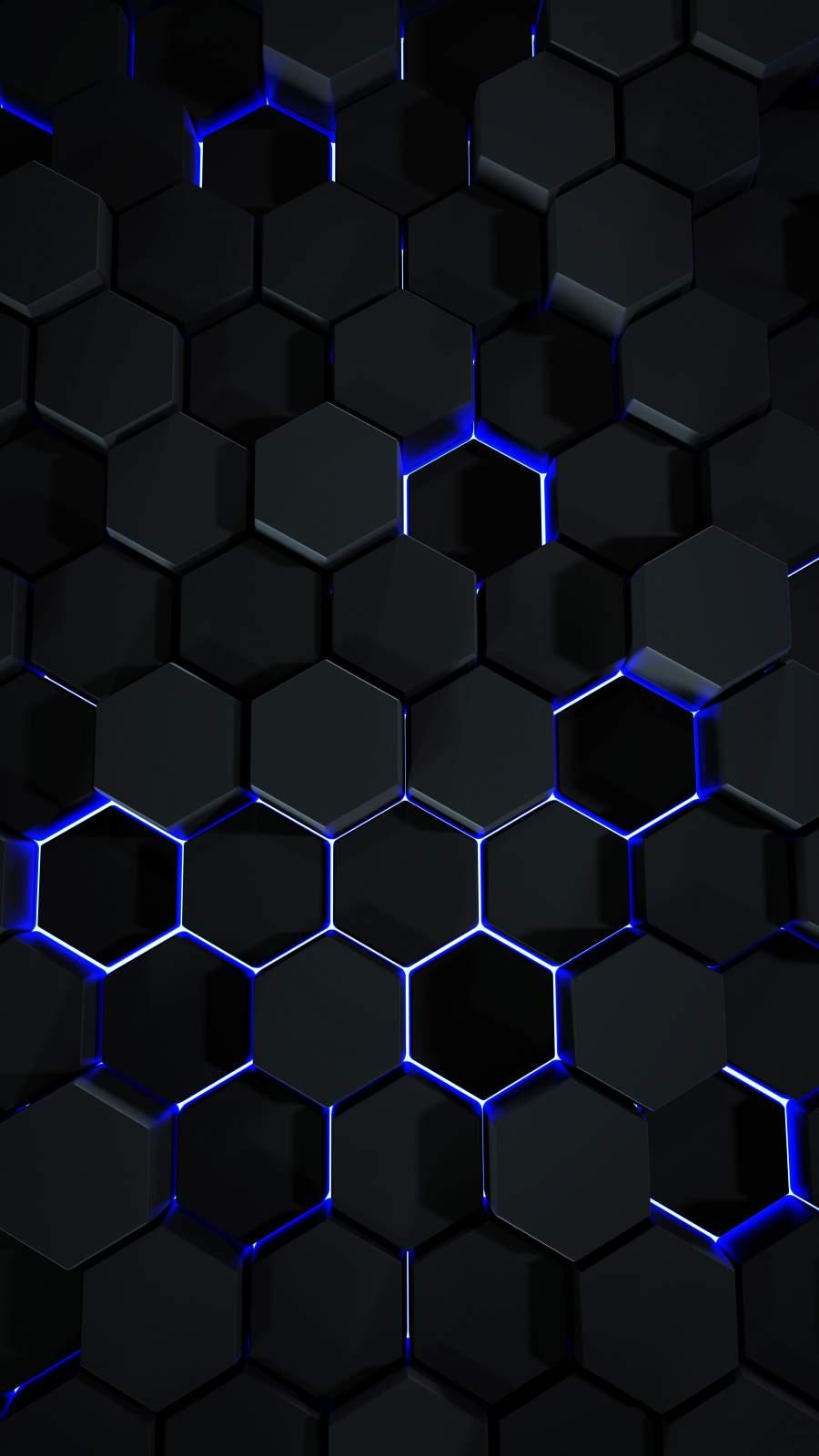 Hexagon 3D Art