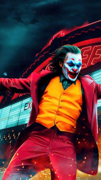 Joker Joaquin Phoenix Dancing