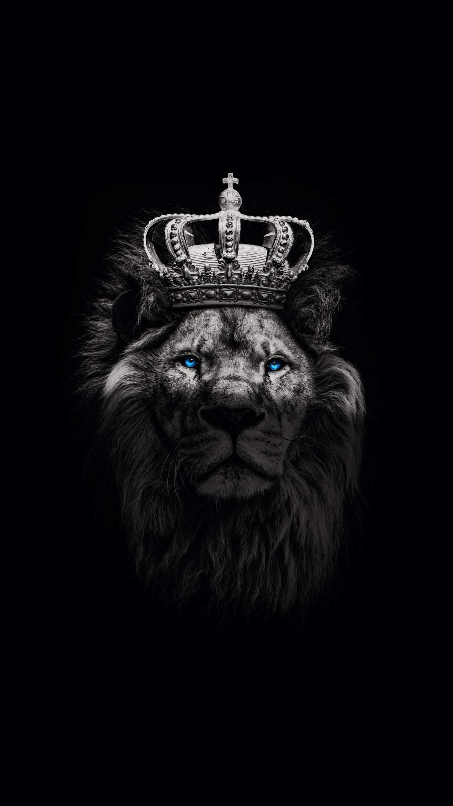 Lion King with Crown