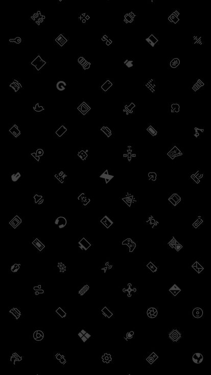 MKBHD Icons iPhone Wallpaper