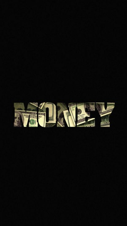 MONEY iPhone Wallpaper