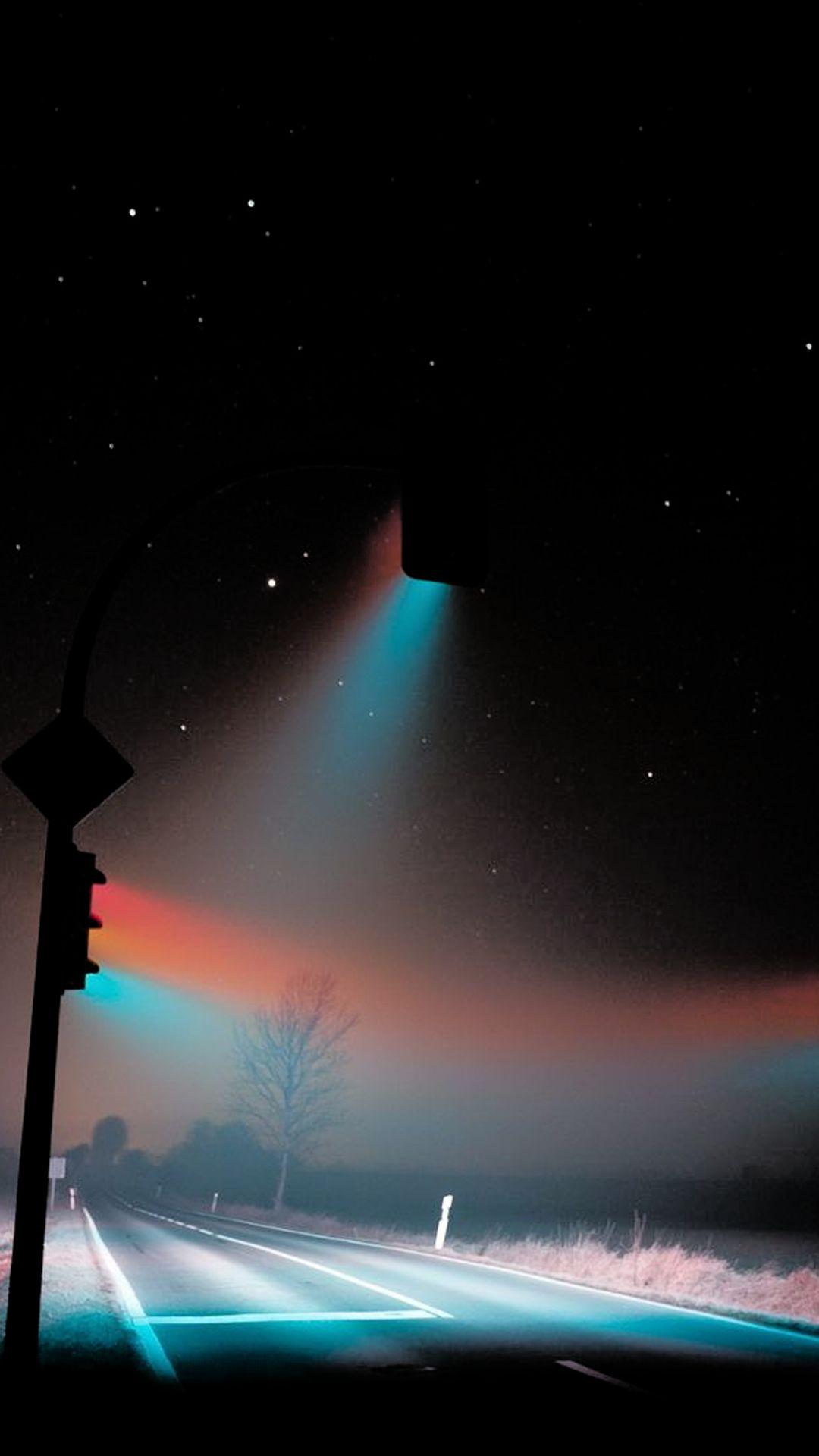 Midnight Traffic Lights