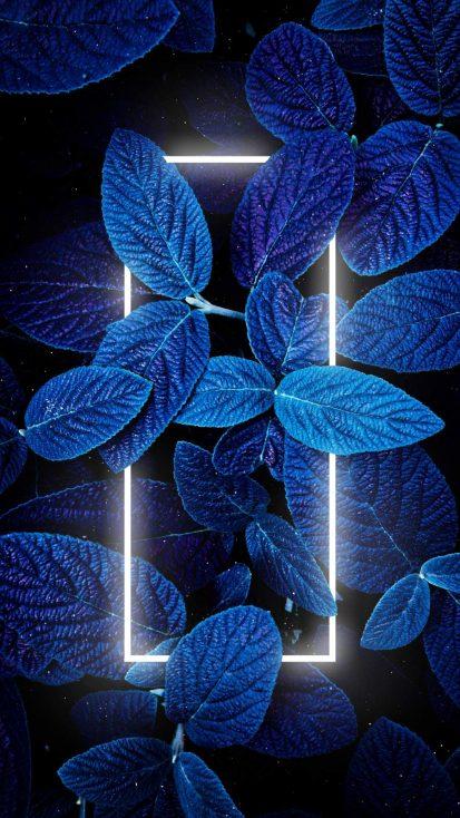 Neon Blue Nature