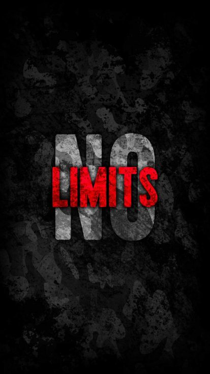 No Limits iPhone Wallpaper