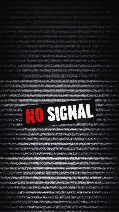 No Signal Background