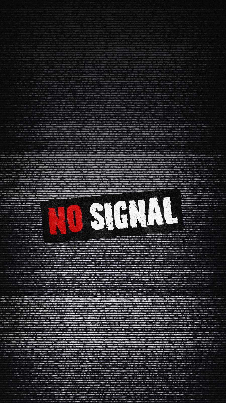 No Signal Background