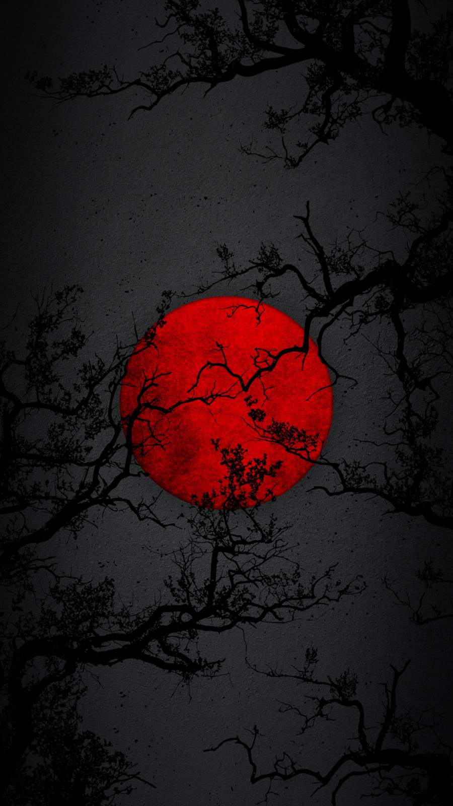 Red Moon Night iPhone Wallpaper