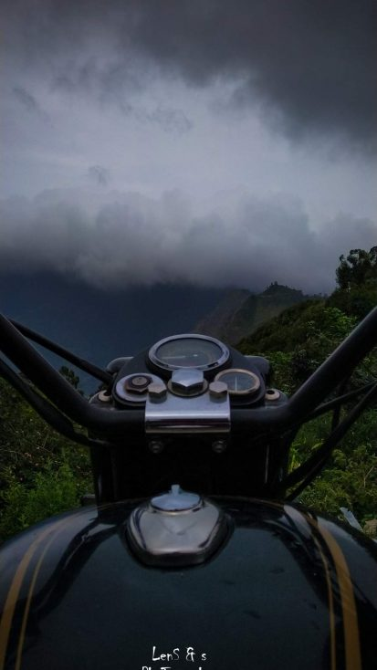 Royal Enfield on Mountains