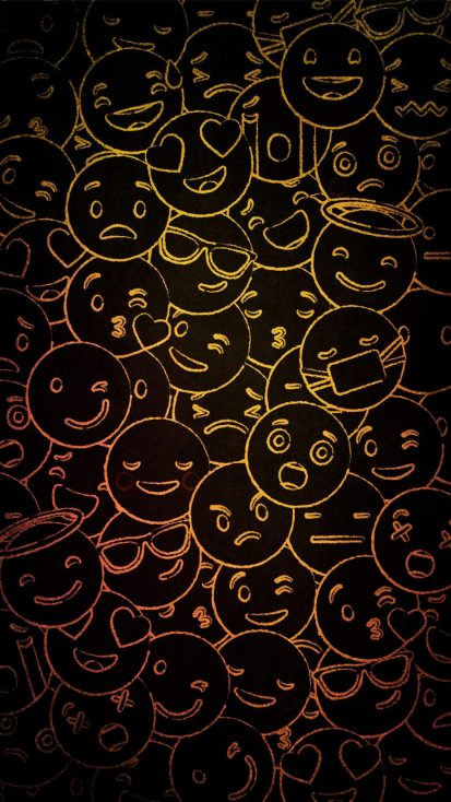Smile Faces Background