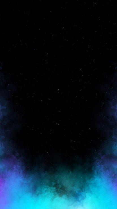 Space Smoke iPhone Wallpaper