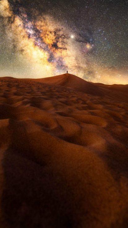Space View From Desert