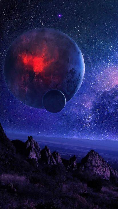 Space art Planet 4K