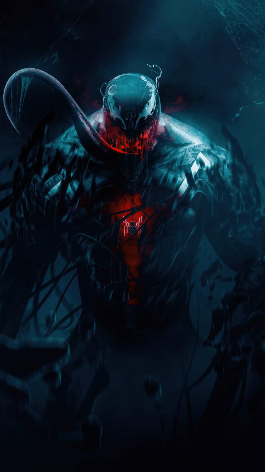 Spider man x Venom iPhone Wallpaper