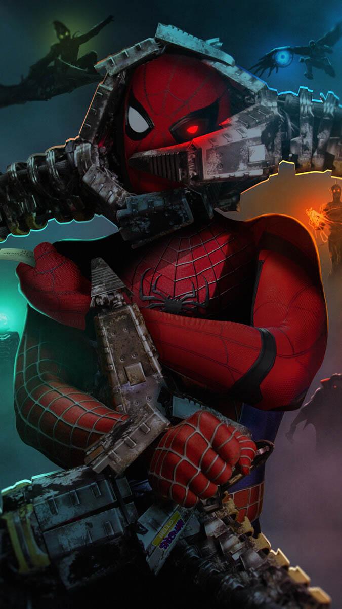 Spiderman 3 iPhone Wallpaper