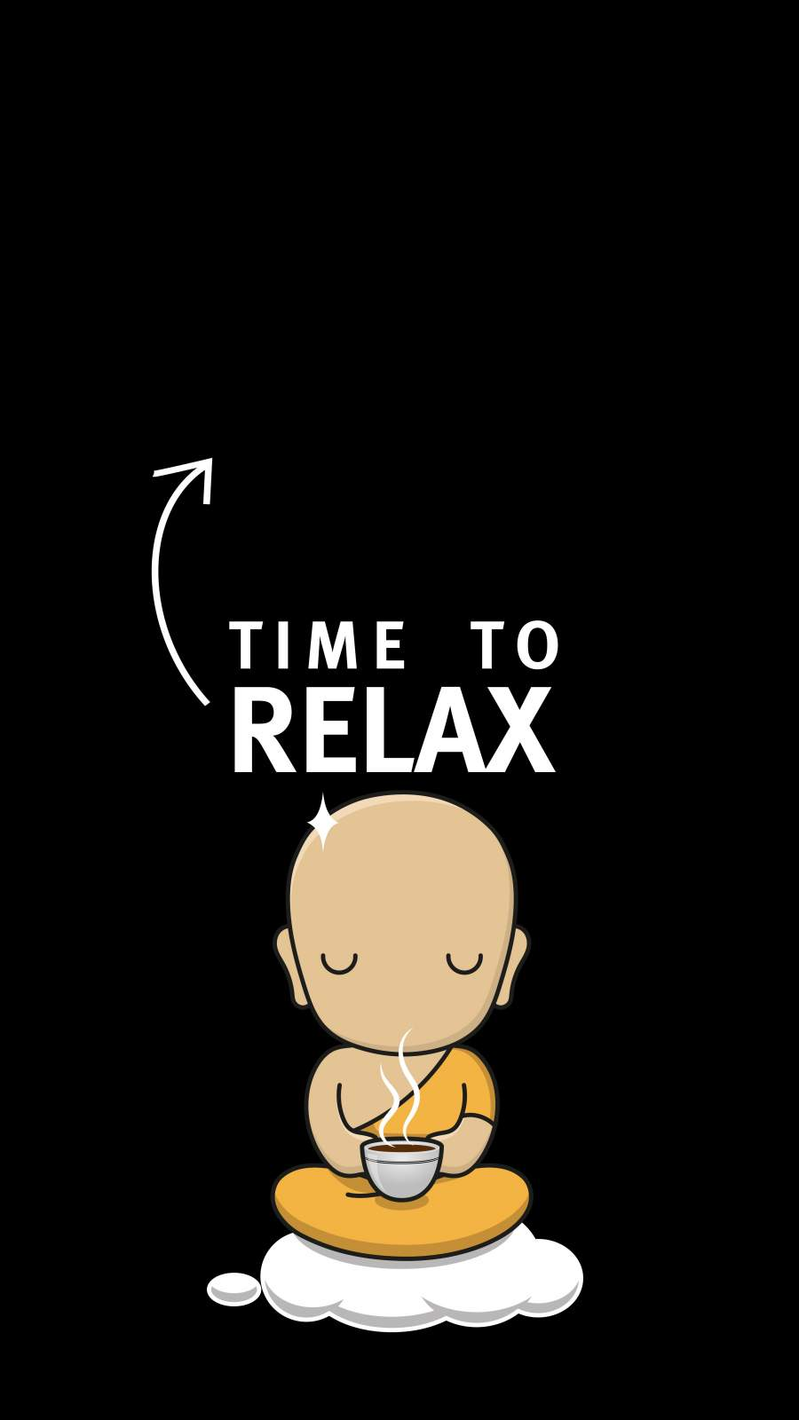 Time to Relax iPhone Wallpaper