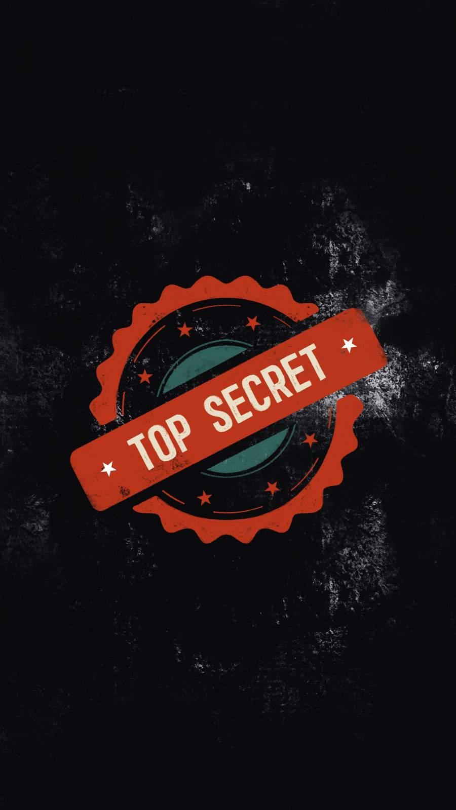 Top Secret iPhone Wallpaper
