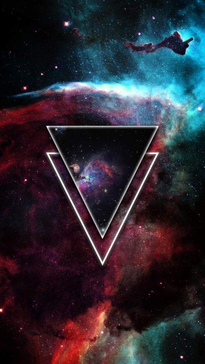 Triangle Space Nebula