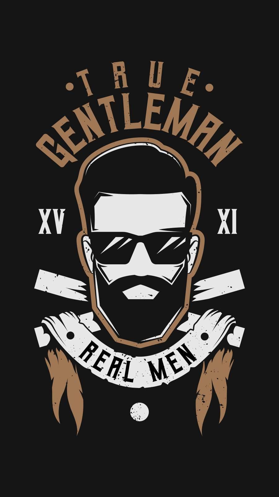 True Gentleman iPhone Wallpaper