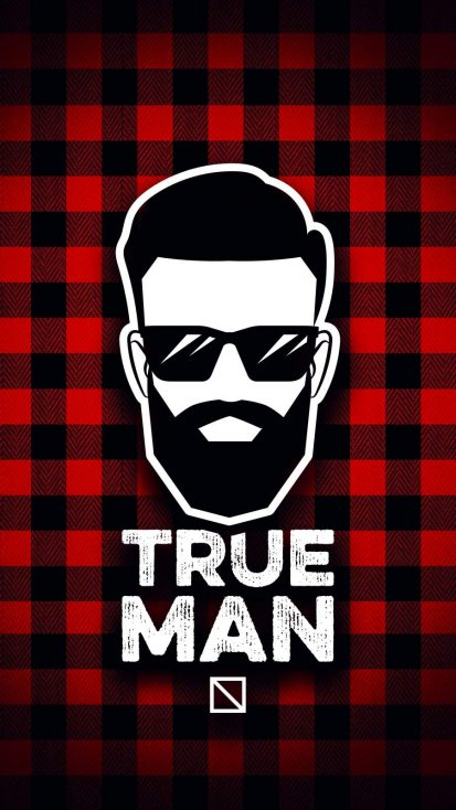 True Man iPhone Wallpaper
