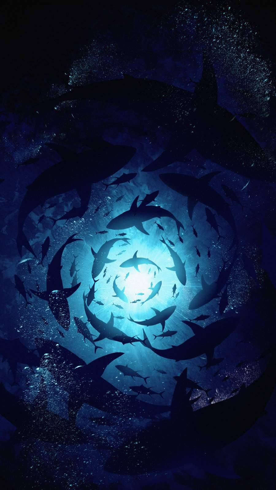 Underwater World iPhone Wallpaper