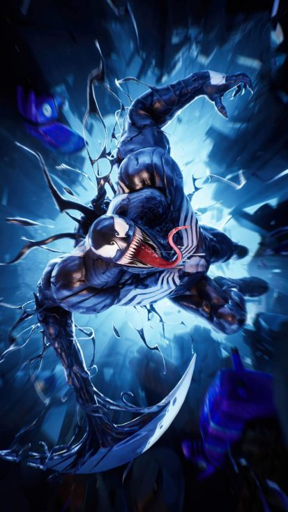 Venom Fortnite iPhone Wallpaper