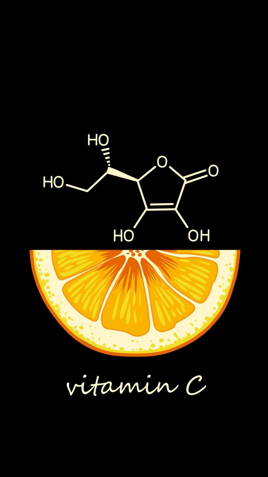Vitamin C iPhone Wallpaper
