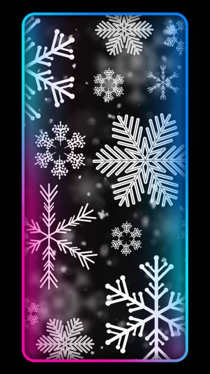 Winter Art Background