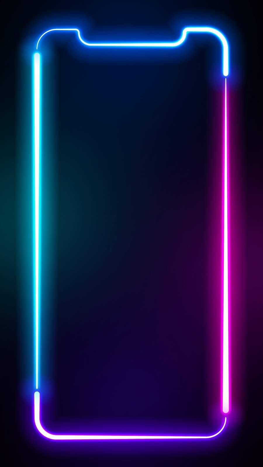 iPhone 12 Pro Neon Wallpaper