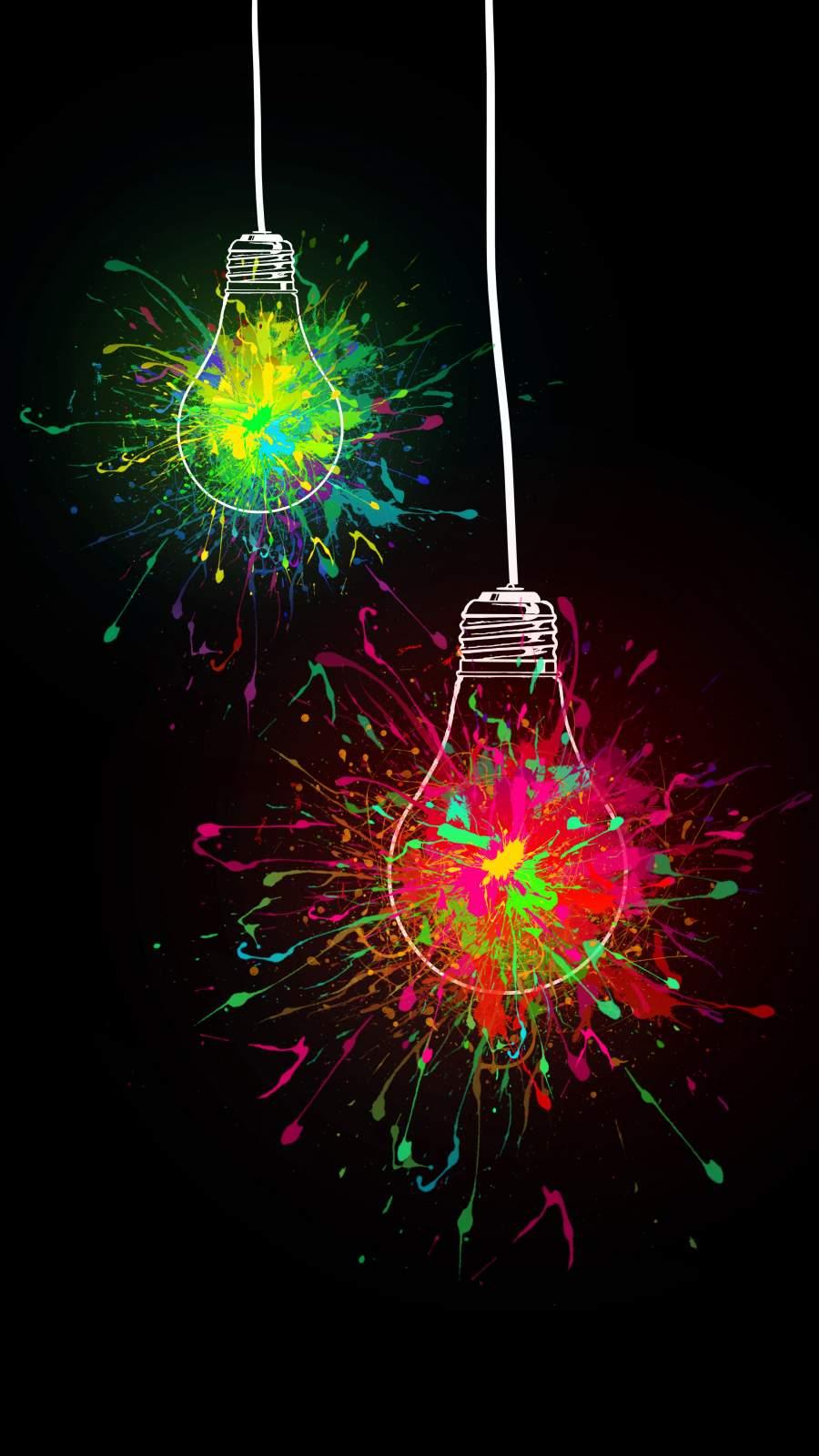 Amoled Bulb iPhone Wallpaper