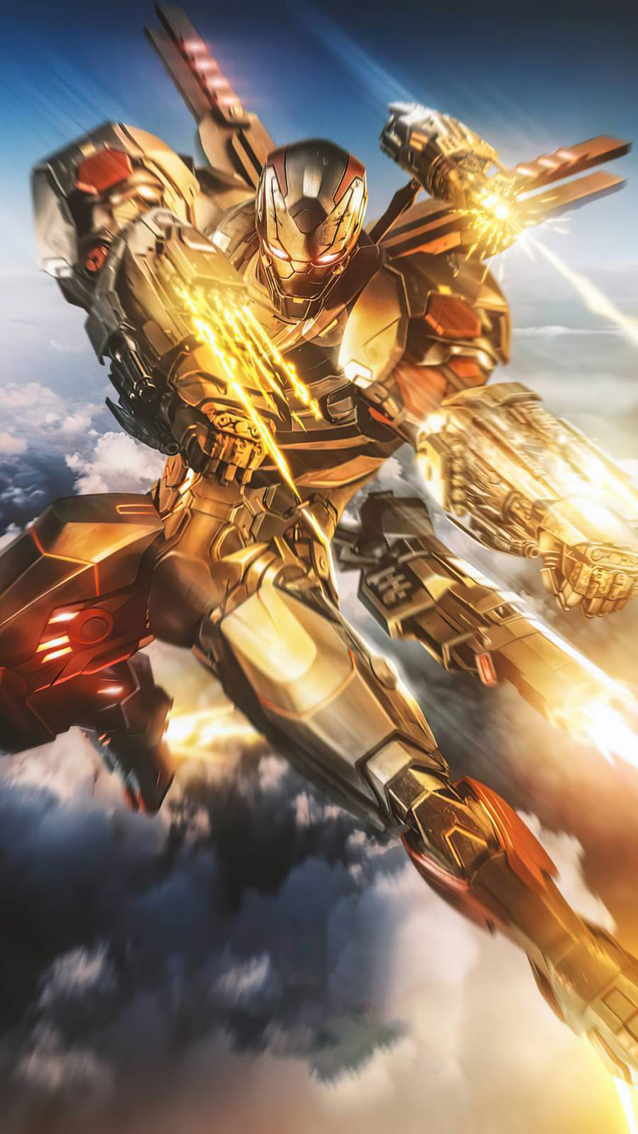 Armor Wars tv series james rhodes as war machine 4K