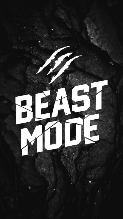 BEAST MODE iPhone Wallpaper