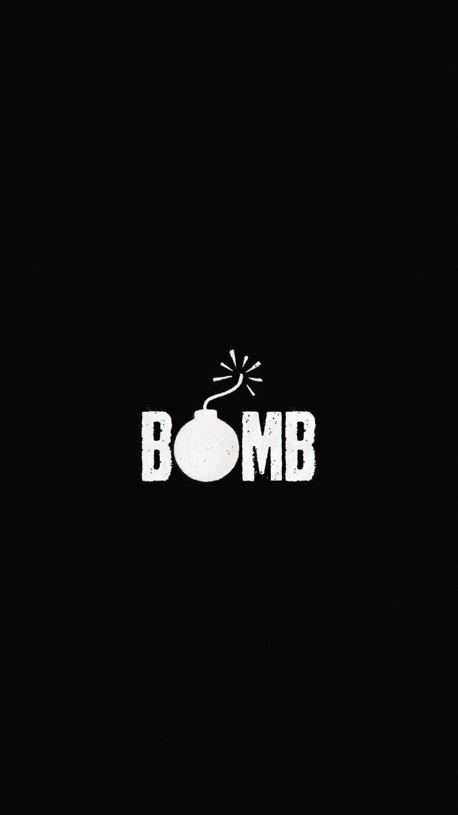 BOMB iPhone Wallpaper