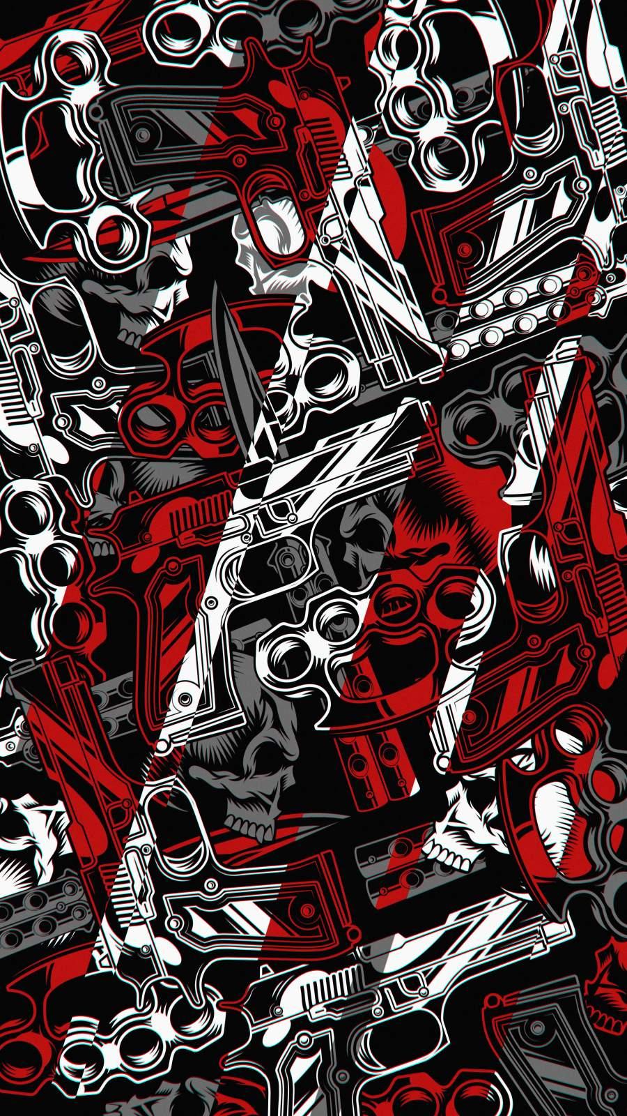 Bad Guy Stuff iPhone Wallpaper