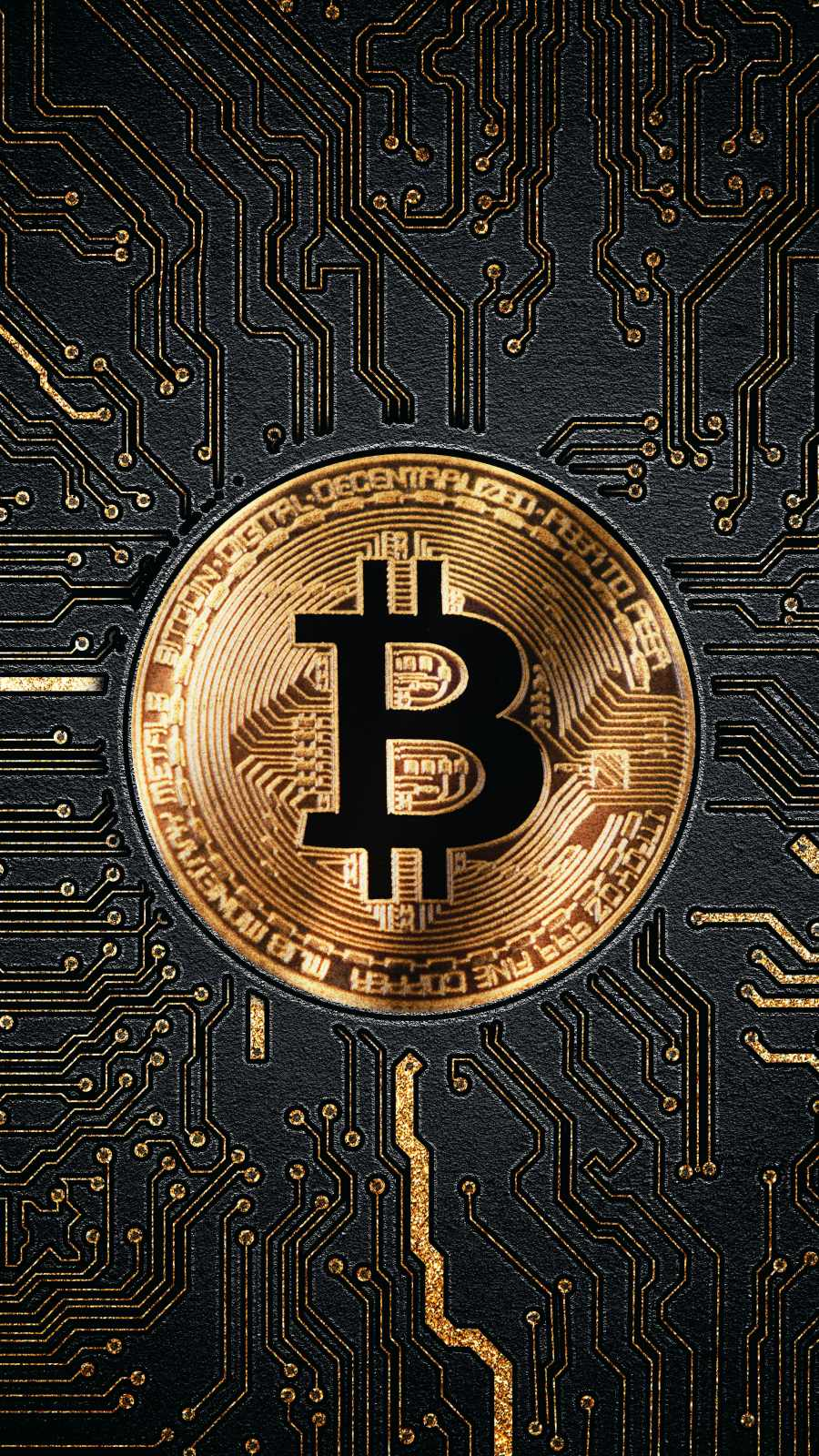 Bitcoin iPhone Wallpaper
