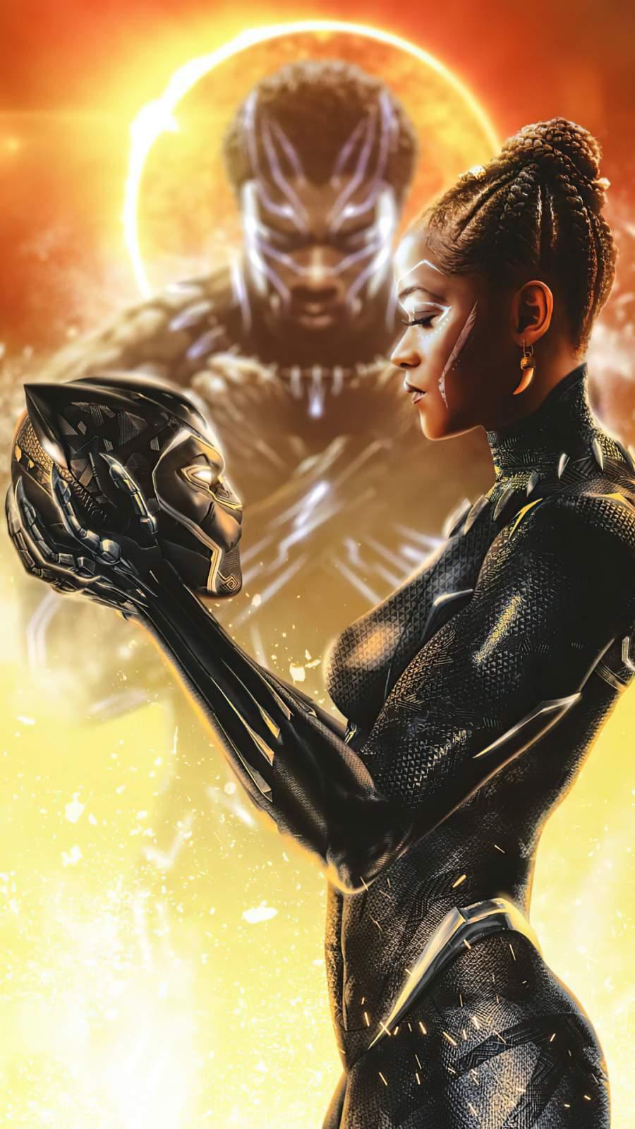 Black Panther 2 iPhone Wallpaper