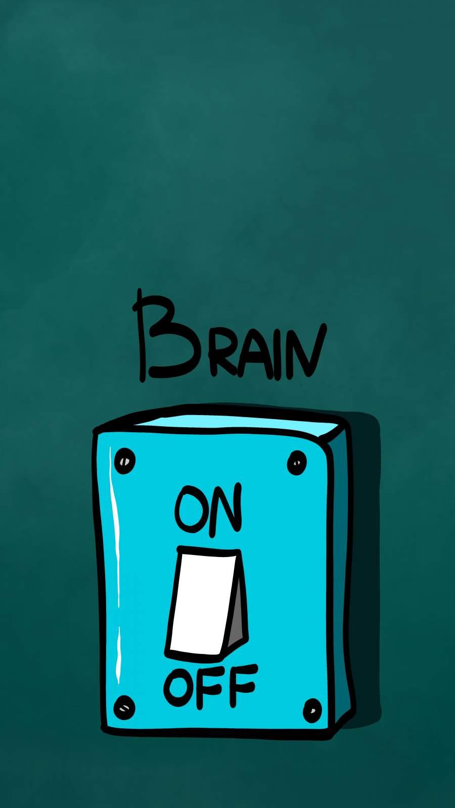 Brain Switch iPhone Wallpaper
