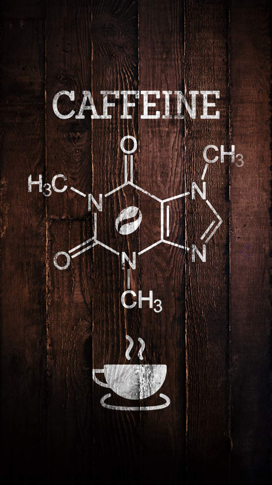 Caffeine Formula iPhone Wallpaper